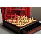 The Calvert Chess Set and Board Combination
