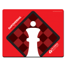 US Chess Women - Mousepad - Red
