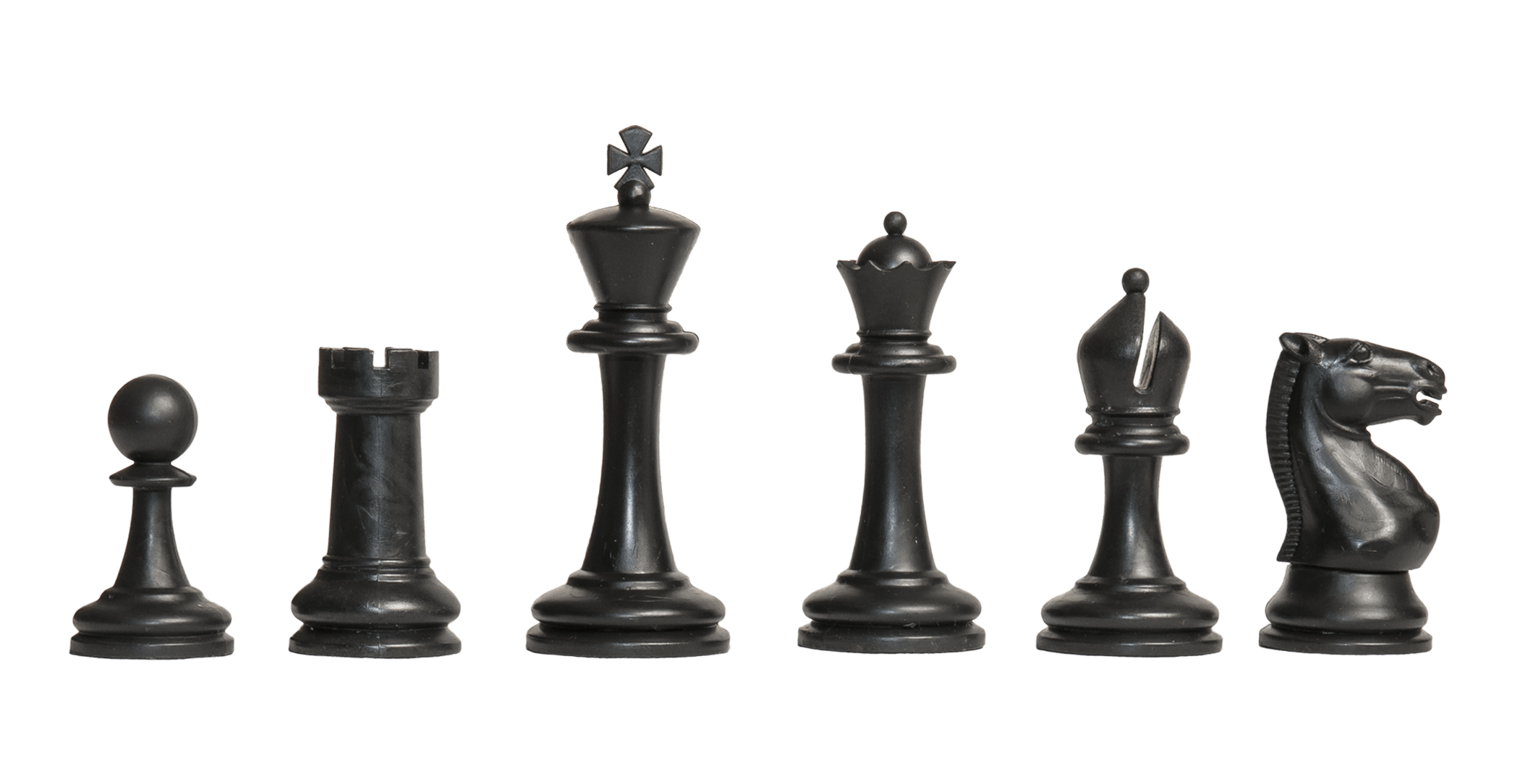 The Competition Series Plastic Chess Pieces 3 75 King
