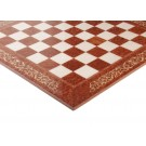 INLAID - Vavaona Burl & Maple Superior Traditional Chessboard - Gloss Finish