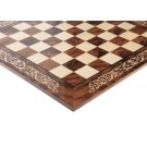 INLAID - Walnut Burl & Maple Superior Traditional Chessboard - Gloss Finish