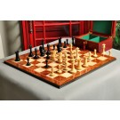 "The B & Co. Series  Chess Set, Board & Box Combination - 4.4"" King"