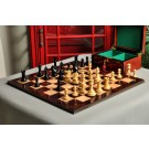 The Centurion Series Chess Set, Box, & Board Combination