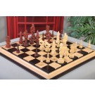 "The Santa Series Chess Pieces - 5.7"" King - Blood Rosewood"