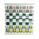 """36"""" Pouch-Style Chess Demonstration Set with Deluxe Carrying Bag"""