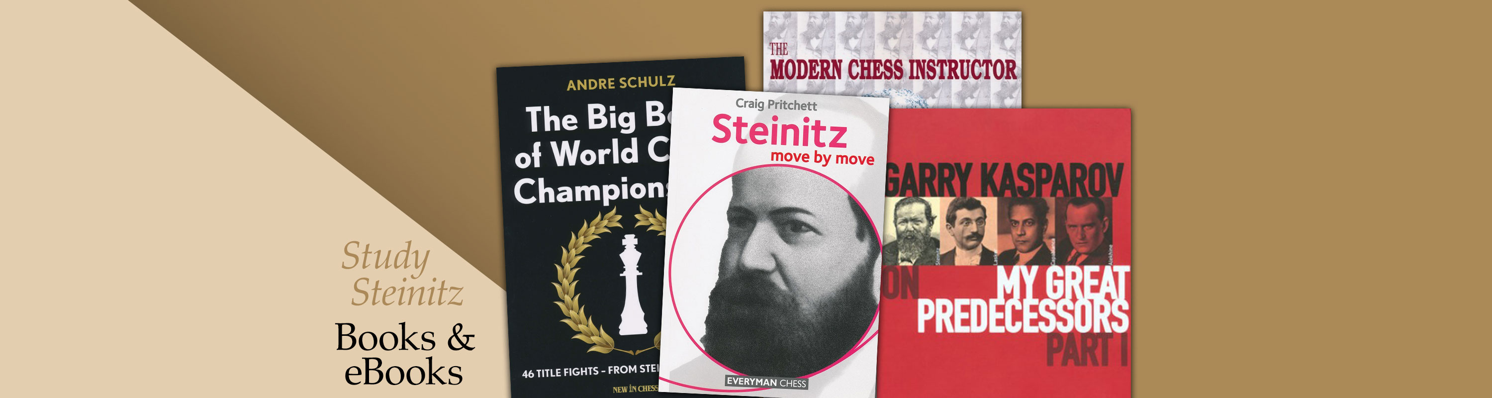 Steinitz: Books and eBooks
