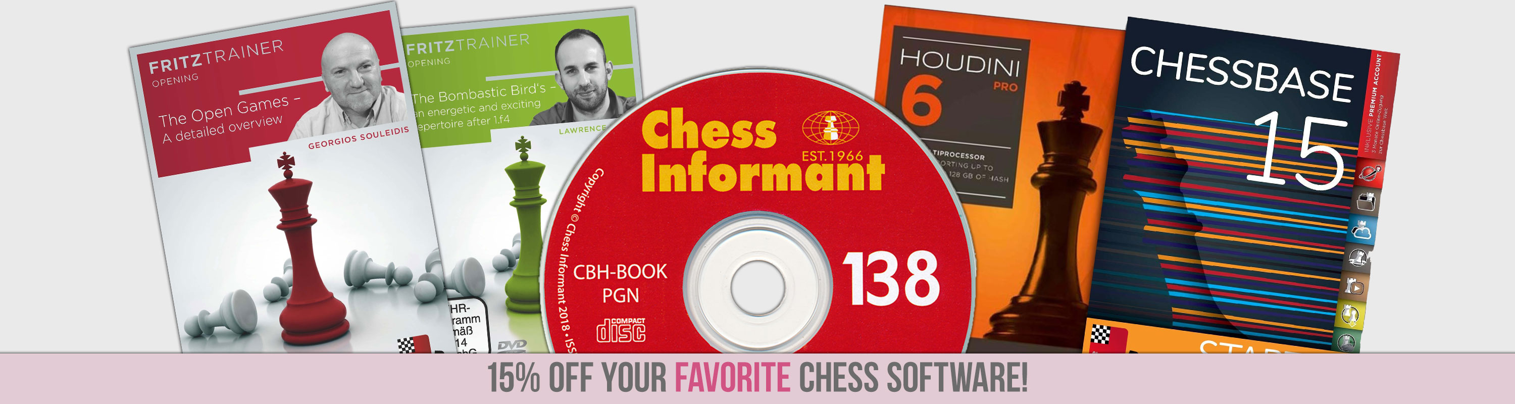 15% Off Chess Software