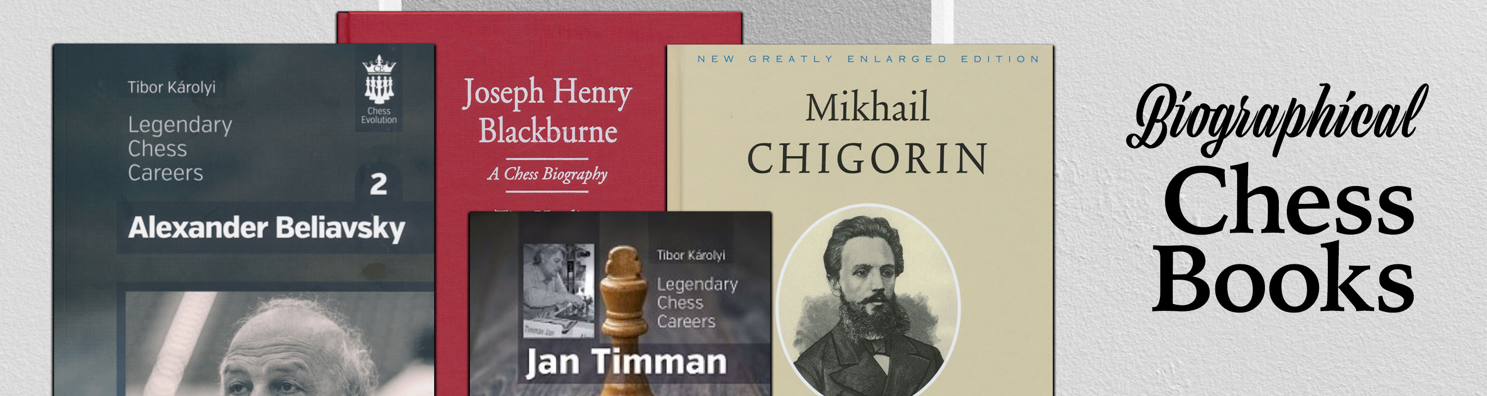 Biographical Chess Books
