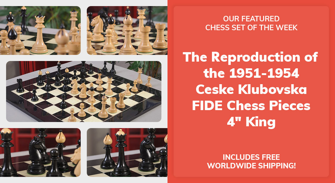The Reproduction of the 1951-1954 Ceske Klubovska FIDE Chess Pieces