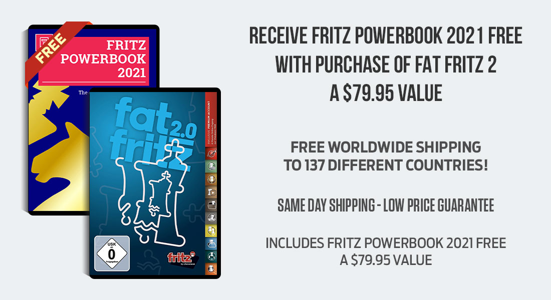 Receive Fritz Powerbook 2021 Free with Purchase of Fat Fritz 2
