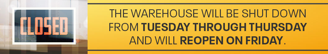 Warehouse Closing